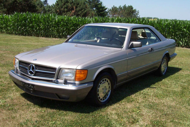 1991 560 sec last year production made in germany cali for 1991 mercedes benz 560sec for sale