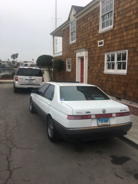 1991 Alfa Romeo 164 Series Luxury 3 0l V6 Automatic For