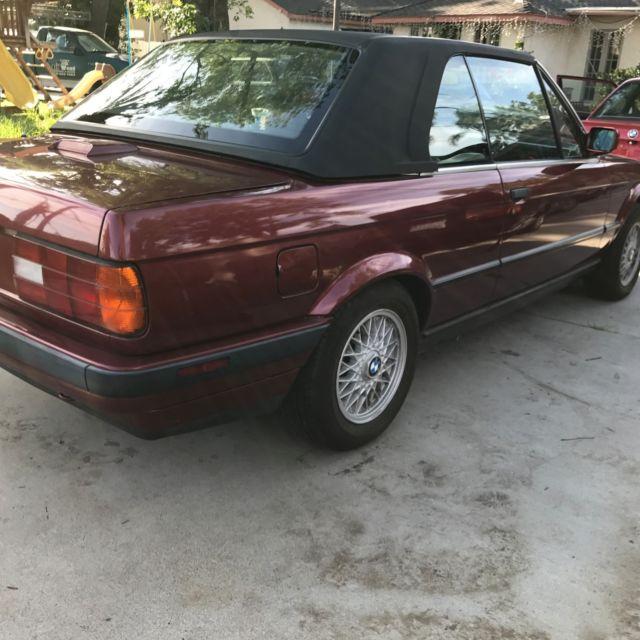 1991 BMW 325I Convertible E30 For Sale