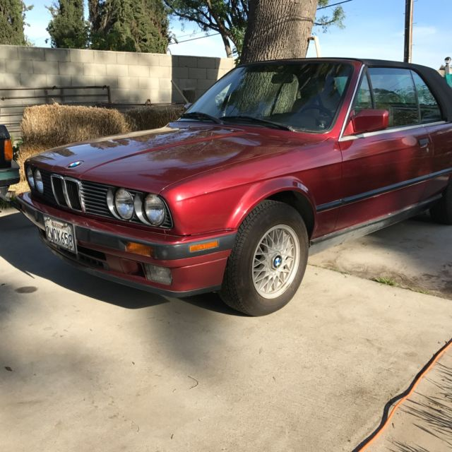 1991 bmw 325i convertible e30 for sale bmw 3 series 1991 for sale in north hills california. Black Bedroom Furniture Sets. Home Design Ideas