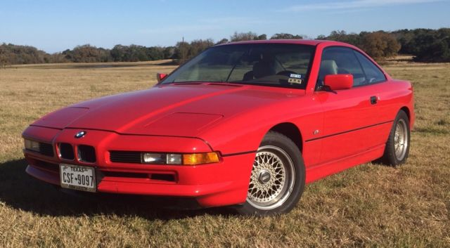 1991 bmw 8 series 850i coupe for sale bmw 8 series 1991 for sale in granger texas united states. Black Bedroom Furniture Sets. Home Design Ideas