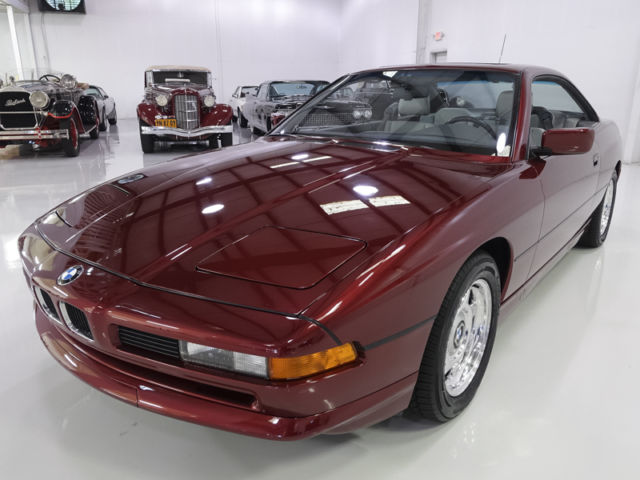 1991 bmw 850i coupe top of the line model low miles for sale bmw 8 series 1991 for sale in. Black Bedroom Furniture Sets. Home Design Ideas