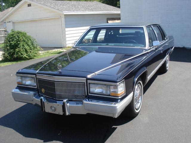 1991 Cadillac Brougham 5 7 V 8 For Sale Cadillac
