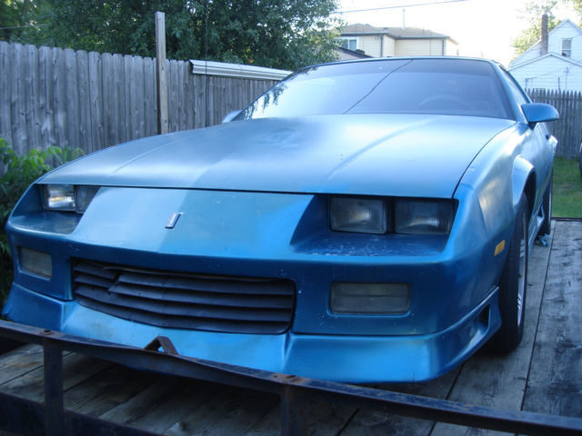 1991 camaro rs z28 ss coupe t top sbc 350 automatic solid car clean need paint for sale. Black Bedroom Furniture Sets. Home Design Ideas