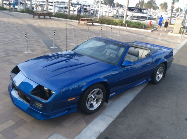 1991 chevrolet camaro z28 convertible stunning 6200 mile example not an iroc for sale. Black Bedroom Furniture Sets. Home Design Ideas