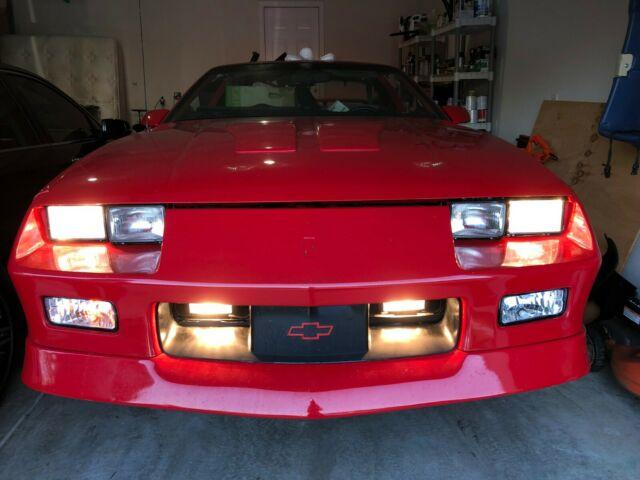1991 Chevrolet Camaro Z28 W T Tops For Sale Chevrolet