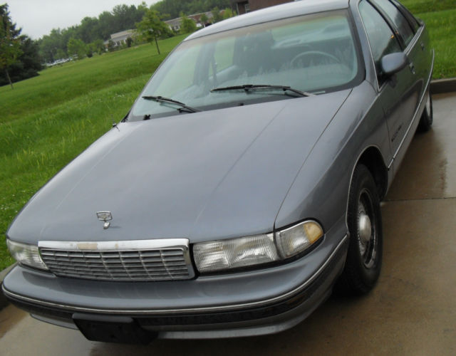 1991 CHEVY CAPRICE CLASSIC 305 V8 125,000 miles wide body