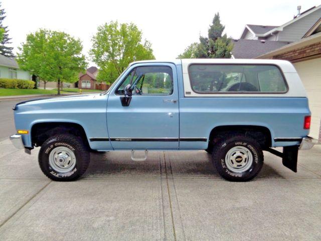 1991 Chevy K5 Blazer 4x4 1990 1989 1988 1987 1986 1985