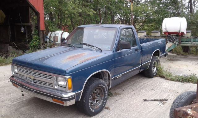 1991 Chevy S10 Pickup Truck 4 3 Manual For Sale Chevrolet S 10 1991 For Sale In Edwardsville Illinois United States