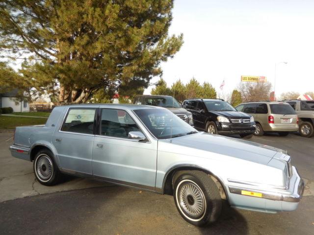 1991 chrysler new yorker salon lee iacocca original car for 1991 chrysler new yorker salon
