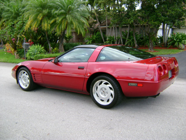 1991 corvette 21000 rare burg met 1 of 949 100 orig mint for sale. Black Bedroom Furniture Sets. Home Design Ideas