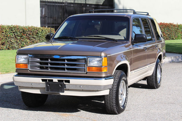 1991 ford explorer eddie bauer 4x4 in excellent condition like bronco for sale ford. Black Bedroom Furniture Sets. Home Design Ideas