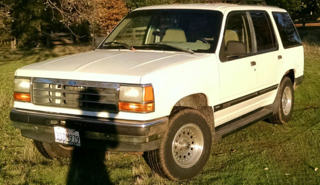 1991 ford explorer xlt 4wd for sale ford explorer 1991 for sale in grass valley california. Black Bedroom Furniture Sets. Home Design Ideas