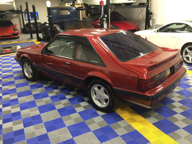 1991 ford mustang fox body 5 0 lx excellent condtion rare in this condition for sale ford. Black Bedroom Furniture Sets. Home Design Ideas
