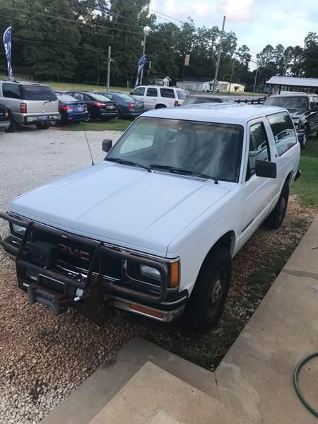 1991 GMC s15 Jimmy base 4x4 4 3 Liter V6 for sale - GMC