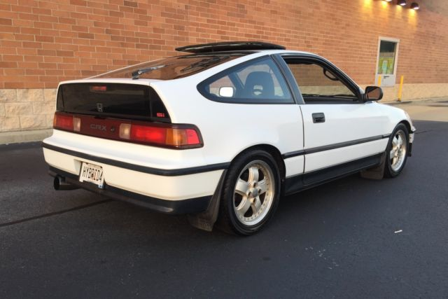 1991 honda civic crx si jdm d15b vtec mugen clean white. Black Bedroom Furniture Sets. Home Design Ideas