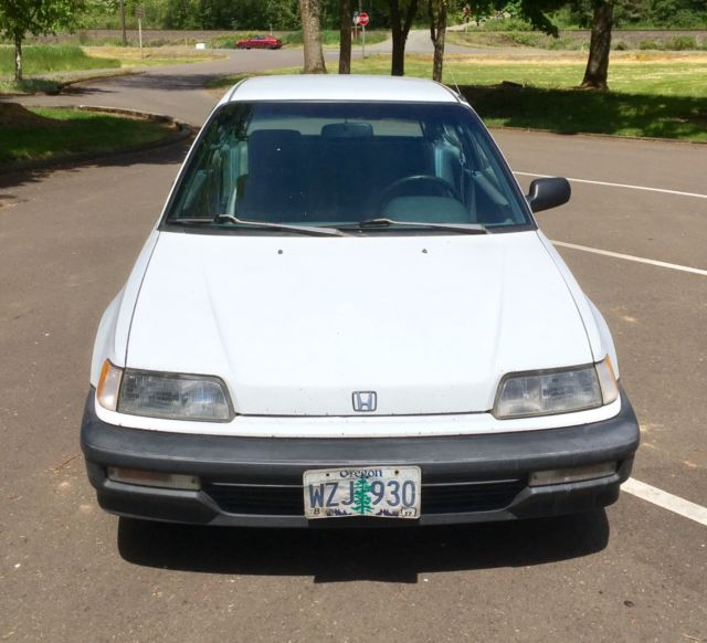 1991 Honda Civic Hatchback Survivor For Sale