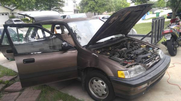 Honda Civic Rt Wd Wagon