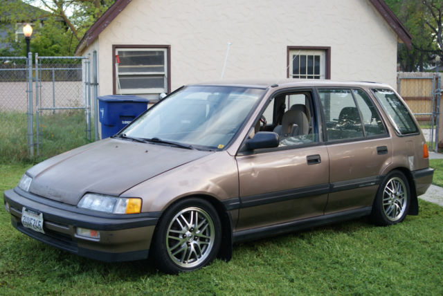 91 civic wagon for sale the wagon. Black Bedroom Furniture Sets. Home Design Ideas