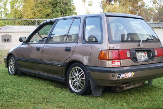 1991 honda civic wagon value