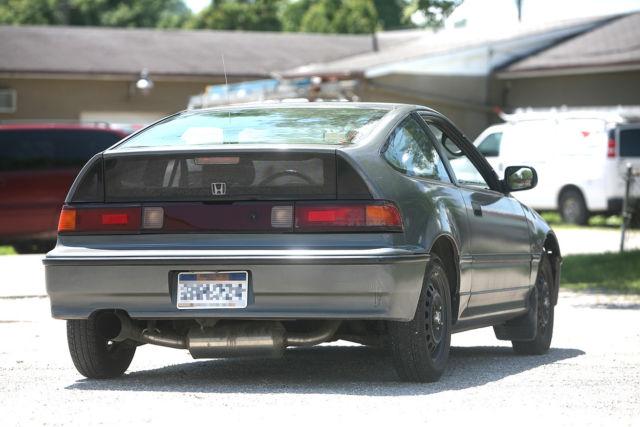 1991 Honda CRX HF ~ rebuilt for sale - Honda CRX HF 1991 ...