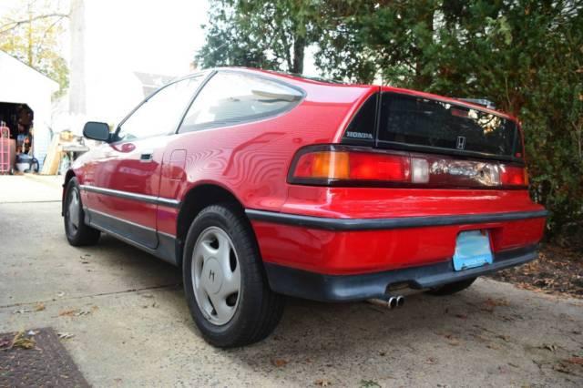 1991 honda crx si original owner car red excellent condition for sale honda crx 1991 for. Black Bedroom Furniture Sets. Home Design Ideas