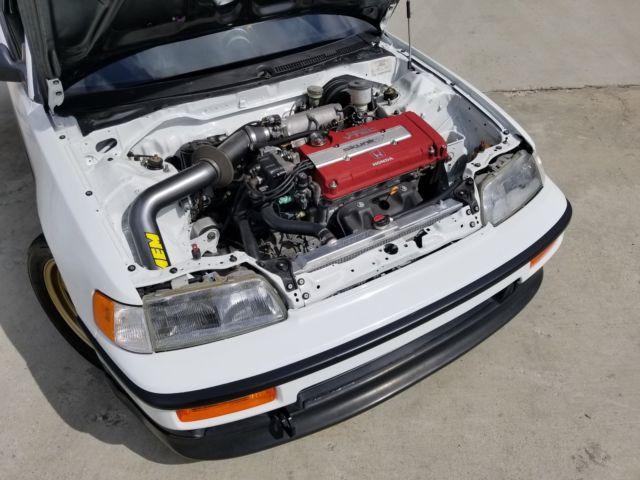 1991 Honda CRX with California BAR legal Acura Integra ...