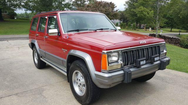 1991 Jeep Cherokee Laredo Sport Utility 4 Door 4 0l 53k Original Miles For Sale Jeep Cherokee 1991 For Sale In Cary North Carolina United States