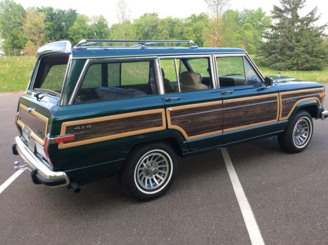 1991 jeep grand wagoneer final edition 5 9l for sale jeep wagoneer. Cars Review. Best American Auto & Cars Review
