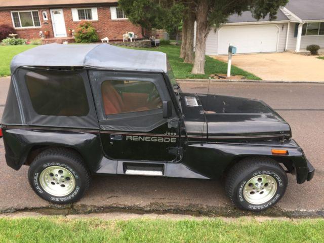 1991 jeep wrangler project for sale jeep wrangler renegade 1991 for sale in saint louis. Black Bedroom Furniture Sets. Home Design Ideas