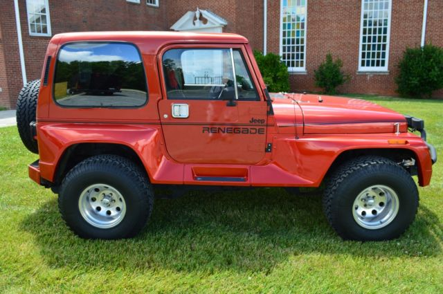 1991 jeep wrangler renegade with hard top fully restored. Cars Review. Best American Auto & Cars Review