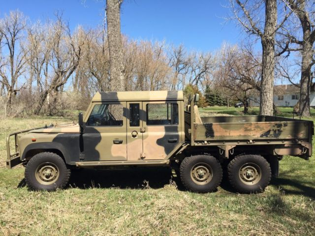 1991 Land Rover 6x6 Double Cab Perentie For Sale Land