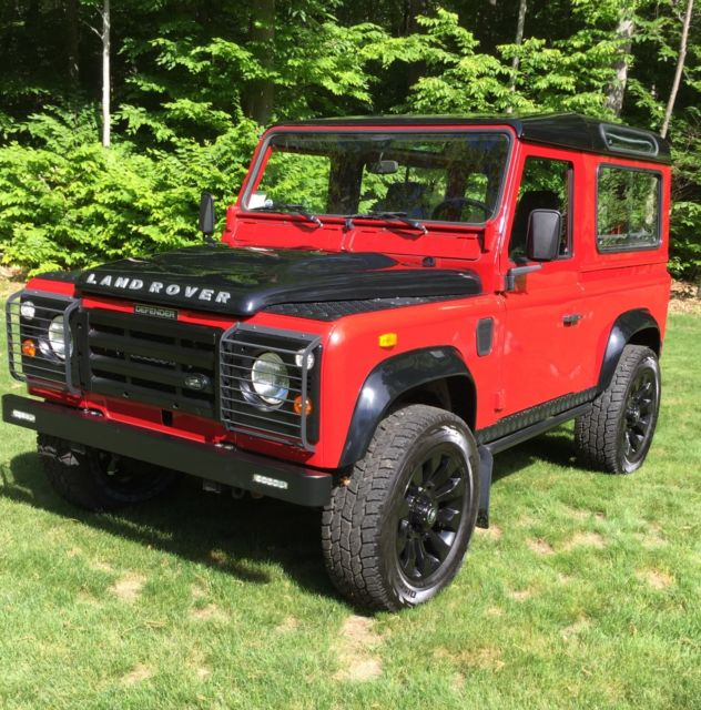 Land Rovers For Sale: 1991 Land Rover Defender 90 200tdi Left Hand Drive