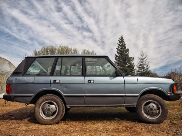 1991 land rover range rover classic for sale land rover range rover 1991 for sale in chico. Black Bedroom Furniture Sets. Home Design Ideas