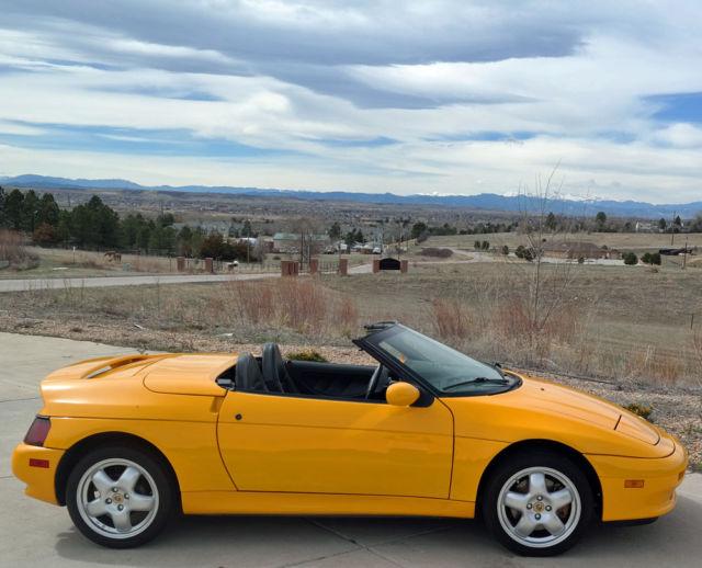 Nada Classic Car Value >> 1991 Lotus Elan M100 - only 16k miles! - Best Elan in the ...
