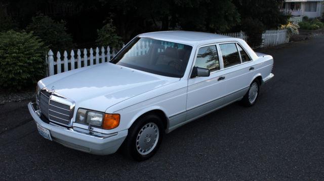 1991 mercedes 420sel sedan beautiful low miles classic s series like 560sel for sale. Black Bedroom Furniture Sets. Home Design Ideas