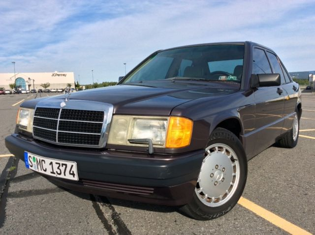 1991 Mercedes Benz 190e 2 6 For Sale Mercedes Benz 190 Series 1991
