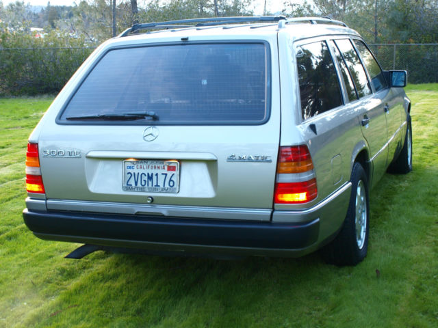 1991 mercedes benz 300te 4matic wagon ca car dealer maintained garaged low miles for sale. Black Bedroom Furniture Sets. Home Design Ideas