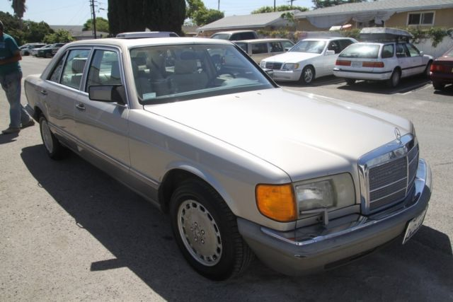 1991 mercedes benz 420 sel automatic 8 cylinder no reserve for 1991 mercedes benz 420sel