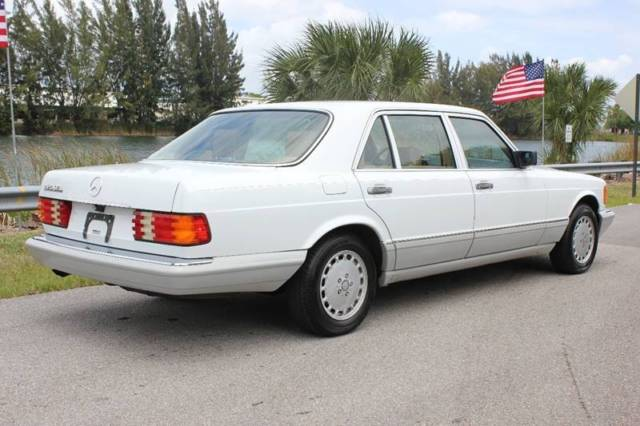1991 mercedes benz 420 sel w126 for sale mercedes benz for Mercedes benz s550 for sale in florida