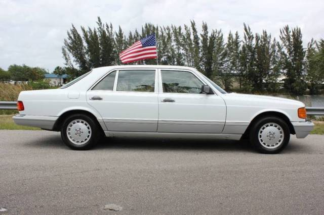 1991 mercedes benz 420 sel w126 for sale mercedes benz for Mercedes benz s 420