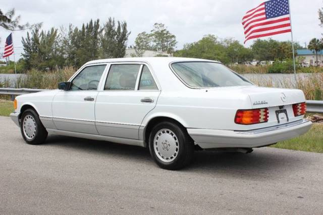 1991 Mercedes Benz 420 Sel W126 For Sale Mercedes Benz S Class 1991 For Sale In Miami