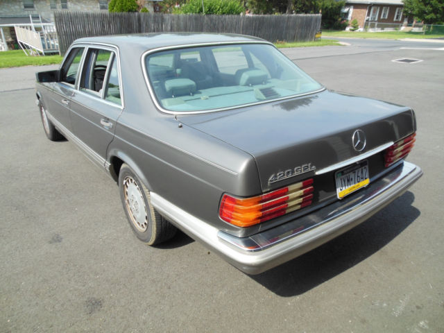 1991 mercedes benz 420sel runs and drives well current pa for Mercedes benz allentown pennsylvania