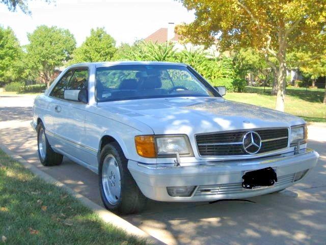 1991 mercedes benz 560sec 57k miles white mint cond 1 for 1991 mercedes benz 560sec for sale
