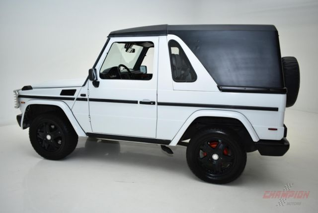 1991 mercedes benz g300 92 830 miles white auto for sale for Mercedes benz g300 for sale
