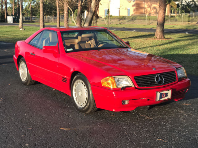 1991 mercedes benz sl 500 convertible for sale mercedes for Mercedes benz 500 convertible