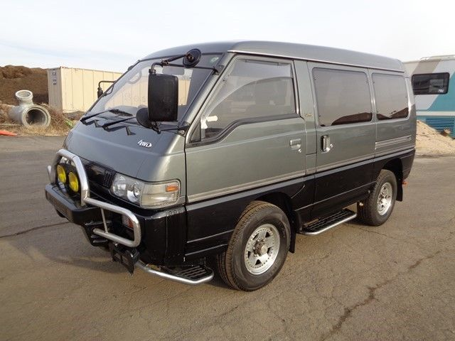 1991 mitsubishi delica minivan awd 4x4 syncro 2 5l turbo diesel for sale mitsubishi other. Black Bedroom Furniture Sets. Home Design Ideas