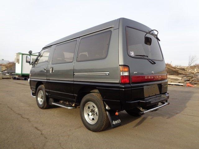 1991 mitsubishi delica minivan awd 4x4 syncro 2 5l turbo diesel for sale mitsubishi other