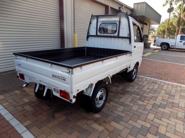 1991 mitsubishi kei mini pickup truck atv utv 4x4 4wd street legal honda suzuki for sale. Black Bedroom Furniture Sets. Home Design Ideas