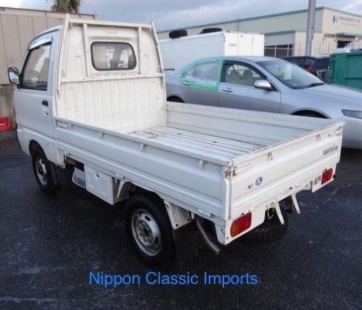 1991 mitsubishi minicab mini kei pickup truck from japan rhd 4x4 4wd utv atv for sale. Black Bedroom Furniture Sets. Home Design Ideas